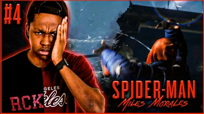 Can Trent Save ANYONE?! Trent's Spider-Man Miles Morales: Walkthrough Ep. 4