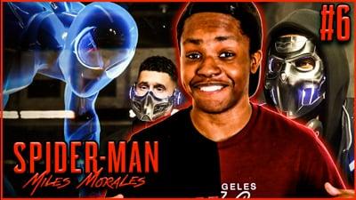 Sneaking Behind Enemy Lines! Trent's Spider-Man Miles Morales: Walkthrough Ep. 6