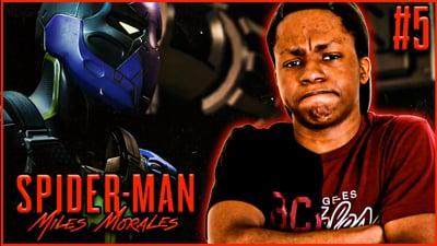 UNMASKING The Prowler! Trent's Spider-Man Miles Morales: Walkthrough Ep. 5