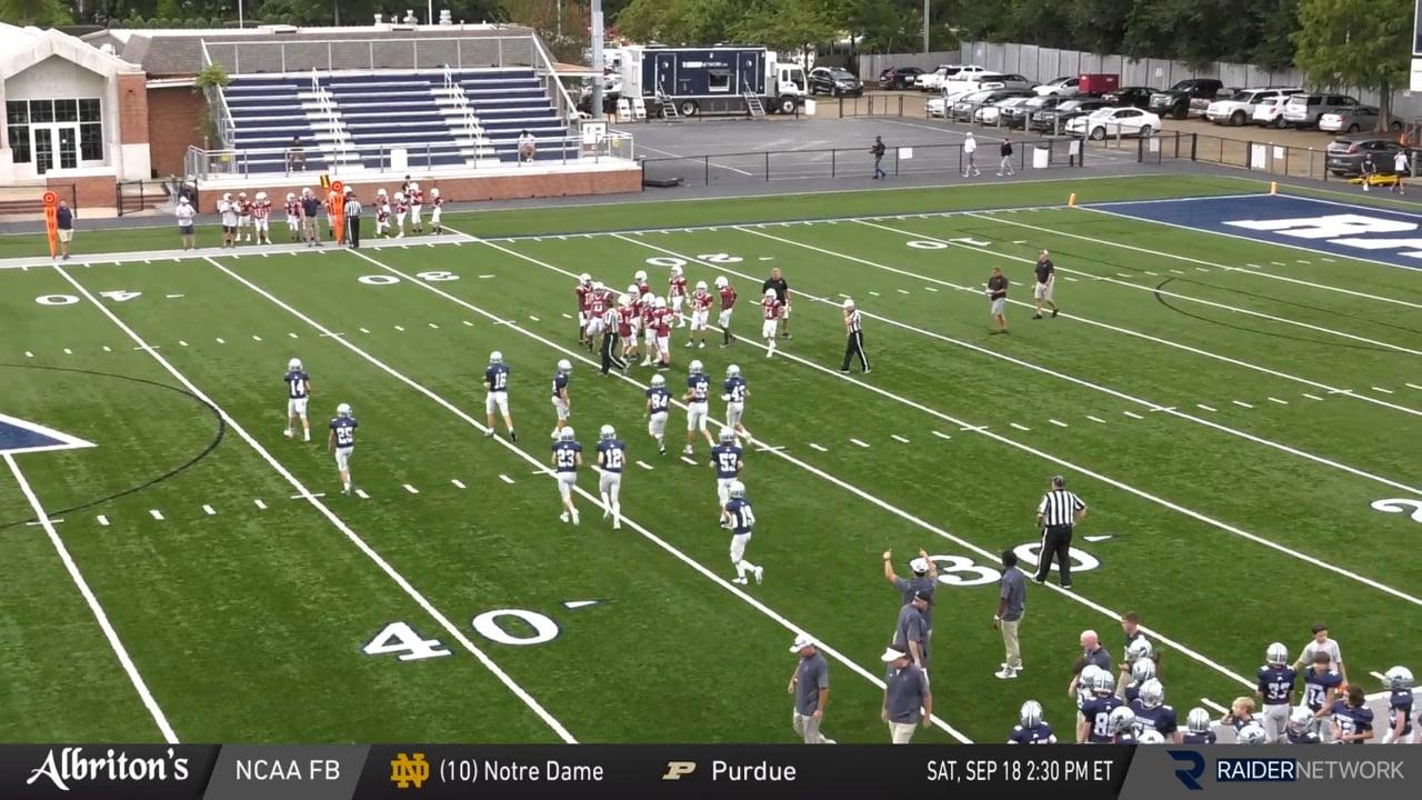 B-Team Football - 09-16-21