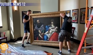 17th Century Painting Found in Church
