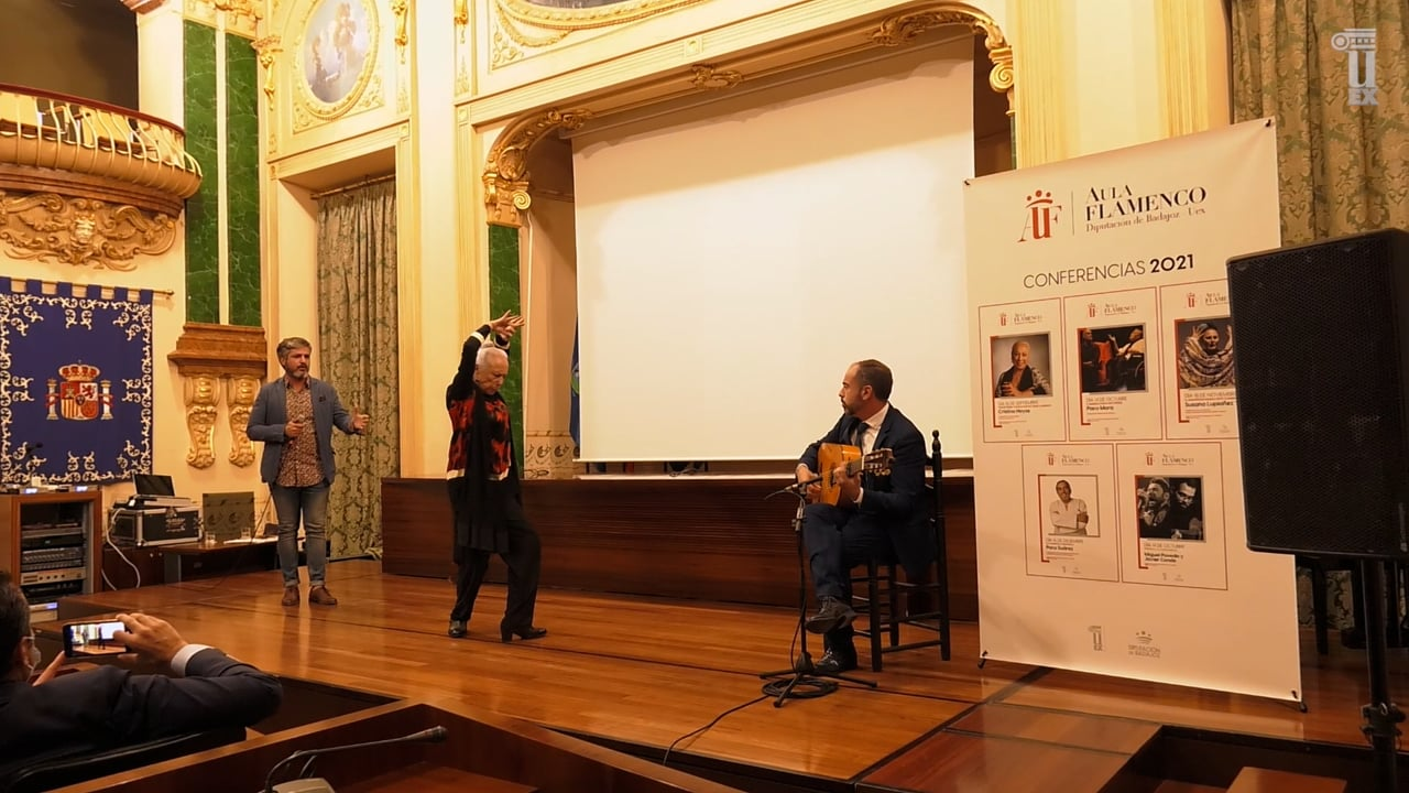 Cristina Hoyos inaugura el Aula de Flamenco 2021.mp4