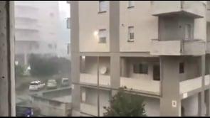 Violento temporale a Campobasso