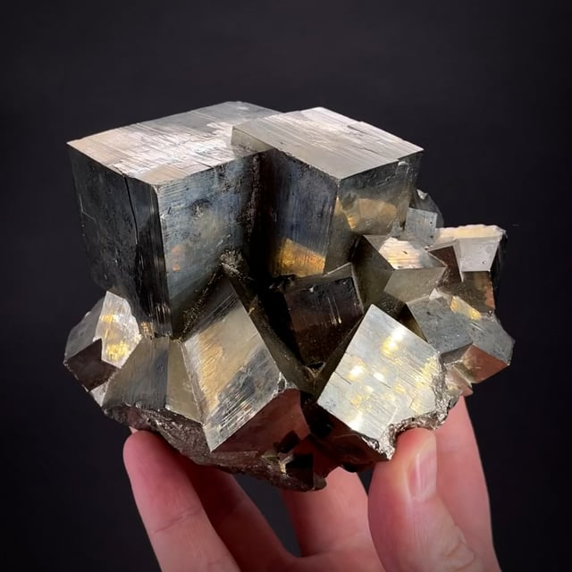 Large Pyrite - old classic locale (Chet Lemanski Coll.)
