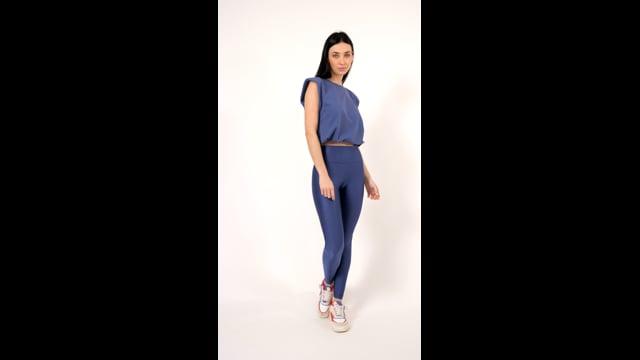 Vídeo do produto NEW - Legging Jackie Blue Jeans and Valência