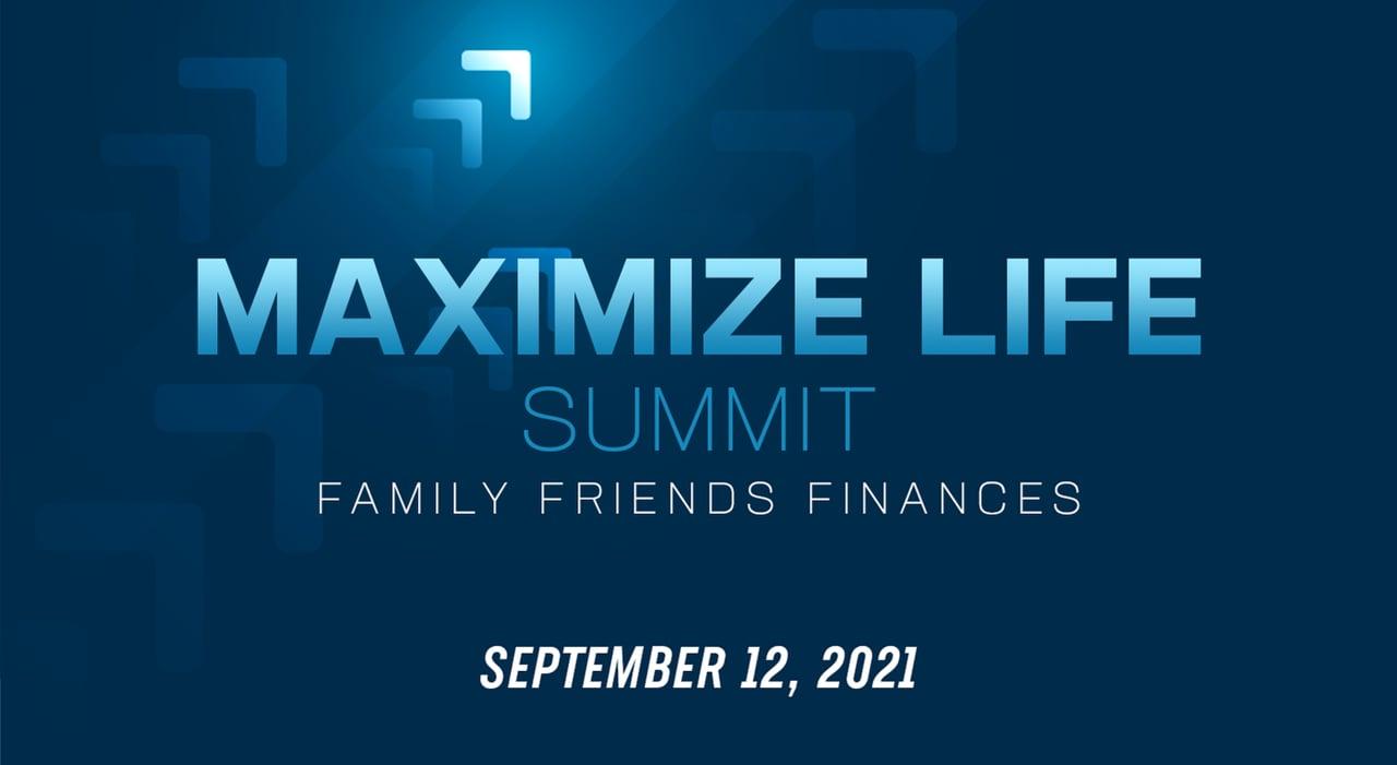 Sunday Morning, 'Maximize Life Summit' (Guest Speaker: Cody Kuehl)
