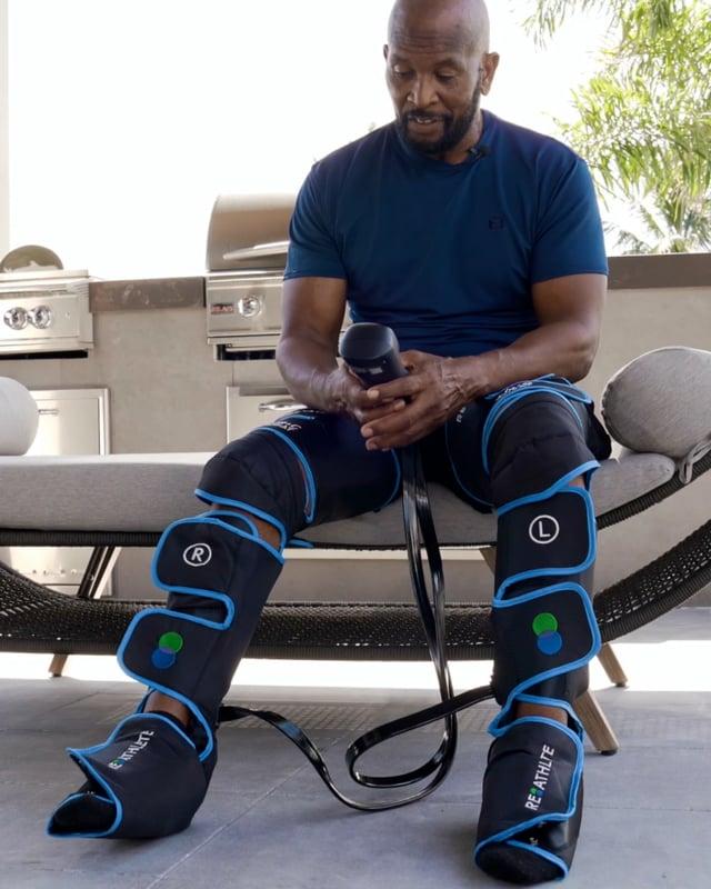 AIR-C + HEAT Leg Air Massager video thumbnail