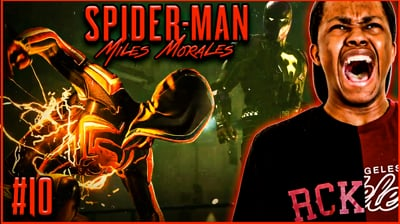 The Prowler Wants All The SMOKE! Trent's Spider-Man Miles Morales: Walkthrough Ep. 10