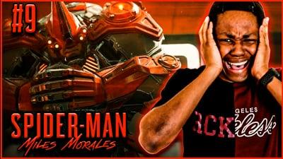 Rhino Is Back For REVENGE! Trent's Spider-Man Miles Morales: Walkthrough Ep. 9