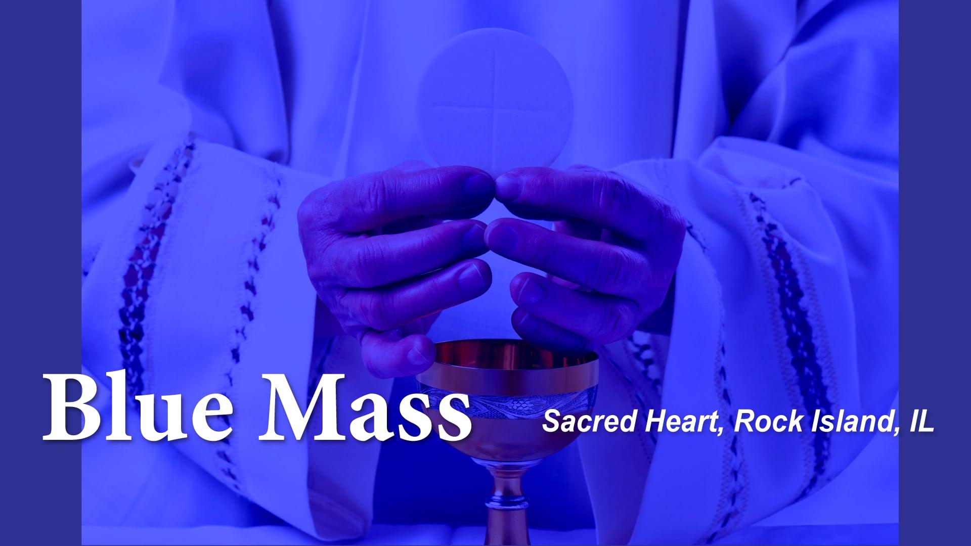 Blue Mass Sacred Heart, Rock Island