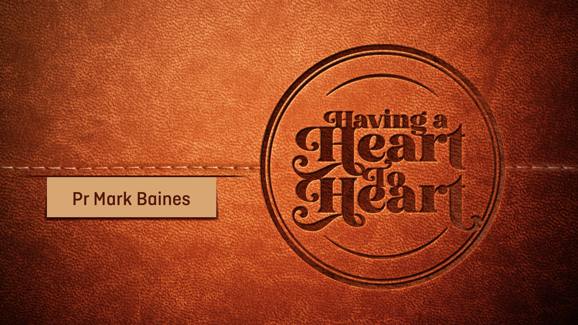 """Having a Heart to Heart, Pt. 3 // """"Finding the Strength to Keep Going"""" (Mark Baines & Jade Champness)"""