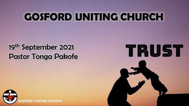 19th September 2021 - Pastor Tonga Pakofe