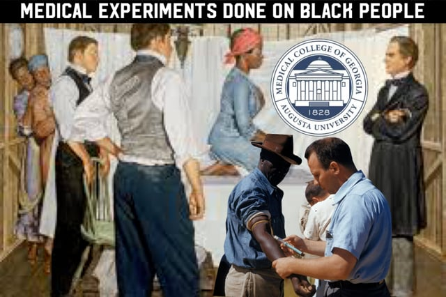5 expierments done on black people