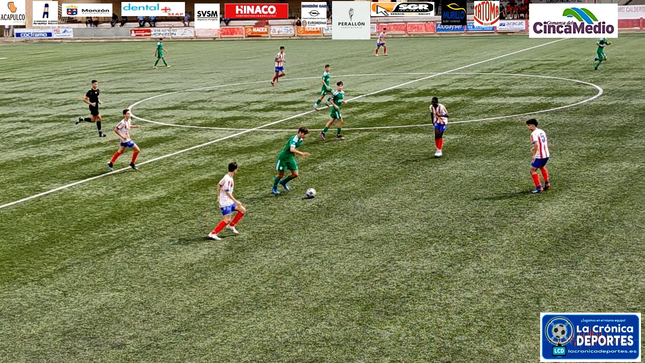 Monzón futbol base-1-2-St.Casablanca  Div.Honor Cadete G 2 2ªJ