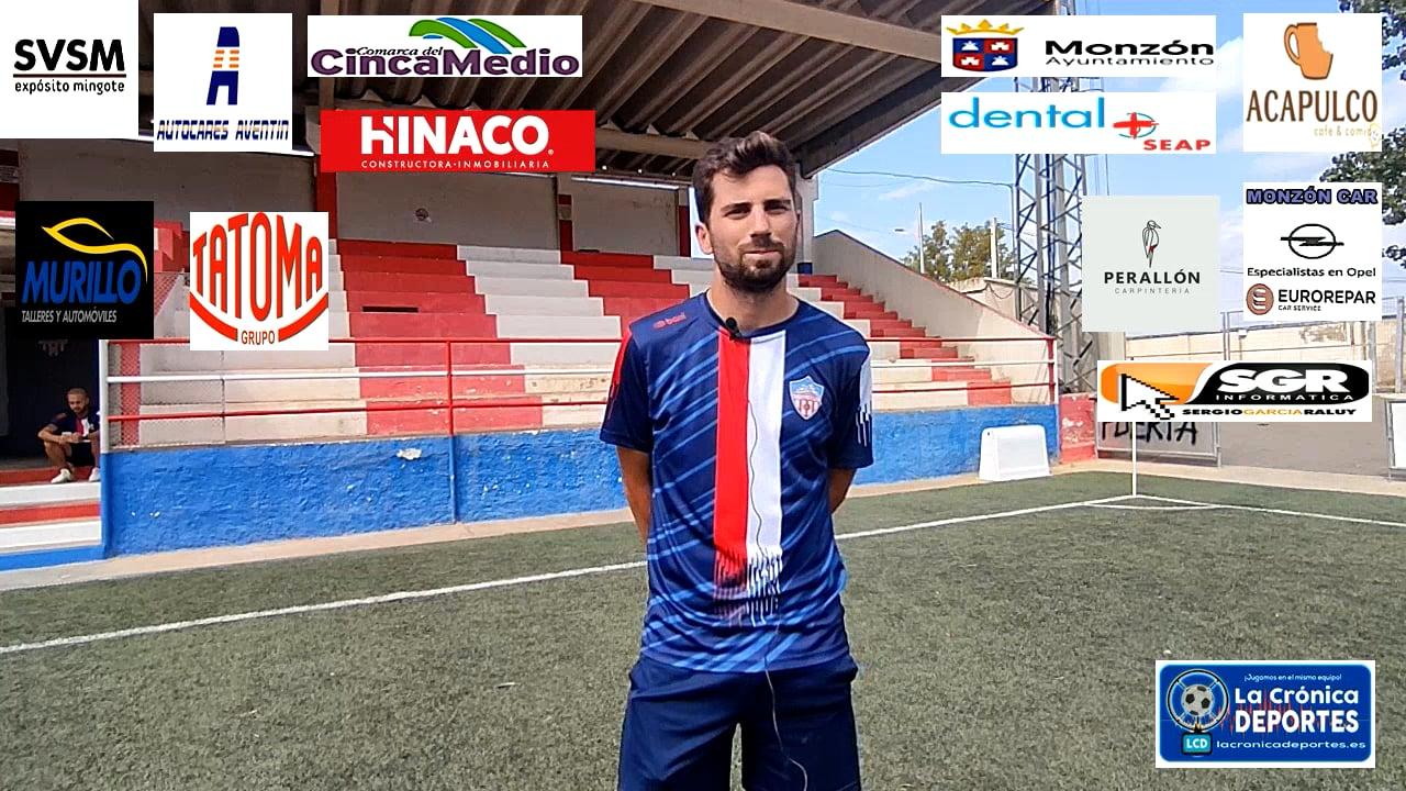 Fran Puyer entrenador Monzón fútbol base Cadete División de Honor