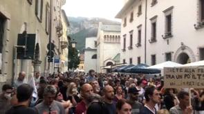 Manifestazione contro il Green Pass a Trento