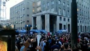 Proteste contro il Green Pass a Milano