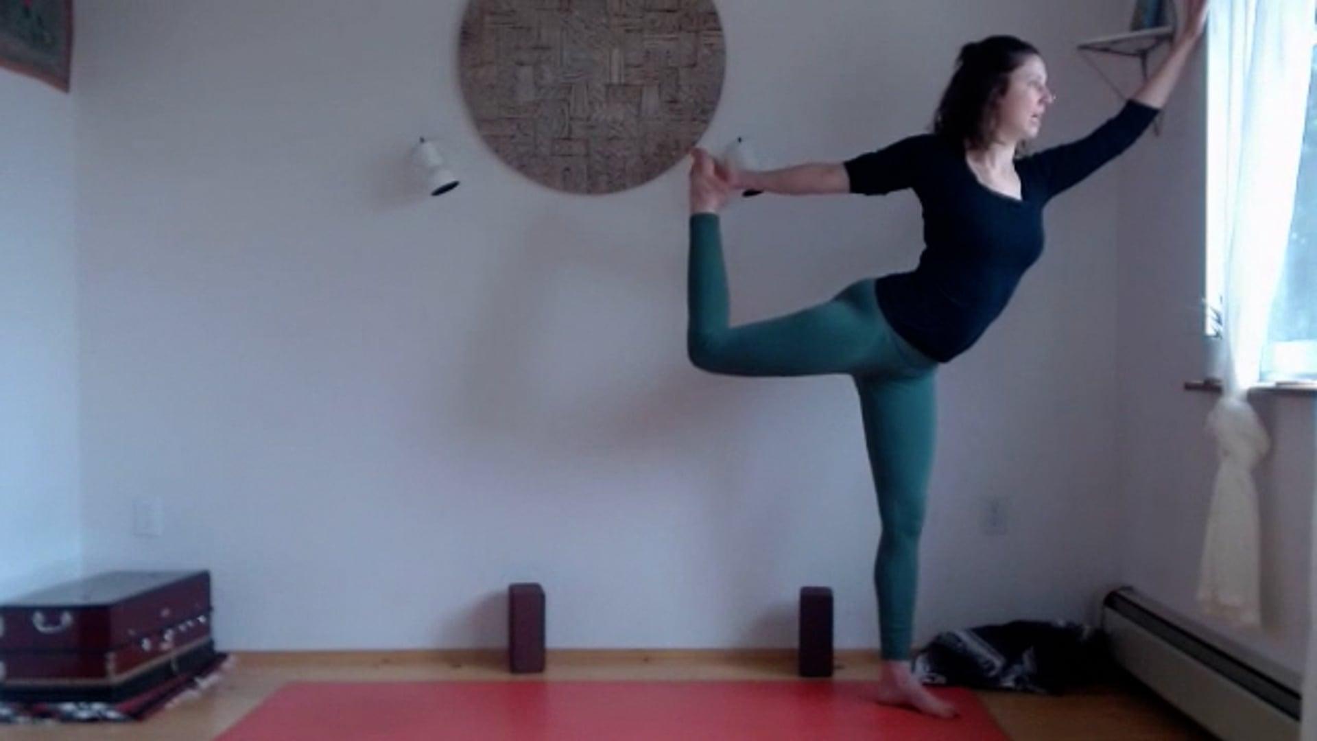 "60 min ""Mudita"" Flow (Natarajasana, Dancer)"