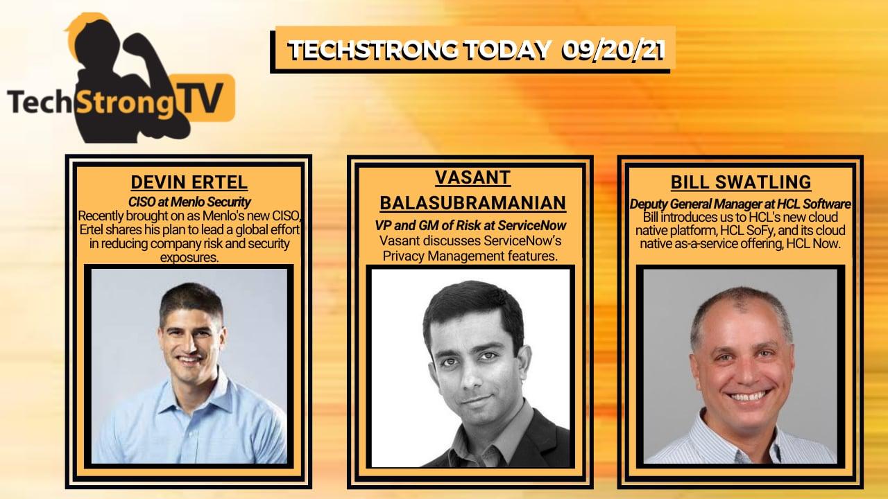 TechStrong TV – September 20, 2021