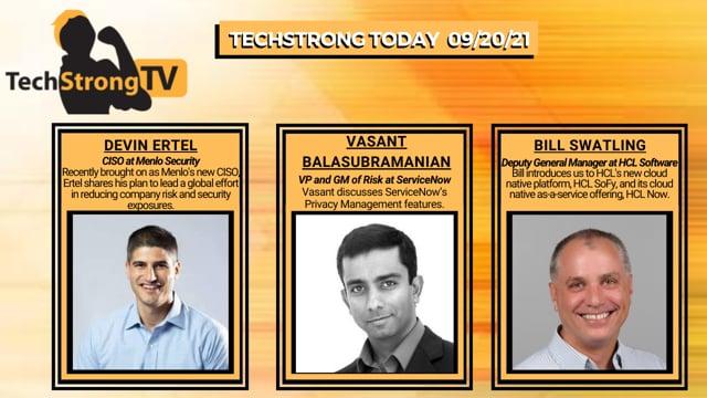 TechStrong TV - September 20, 2021