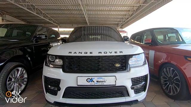 RANGE ROVER - WHITE - 201...