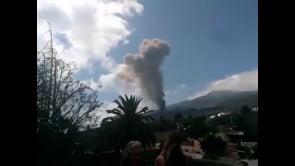 Il vulcano Cumbre Vieja entra in eruzione alle Canarie
