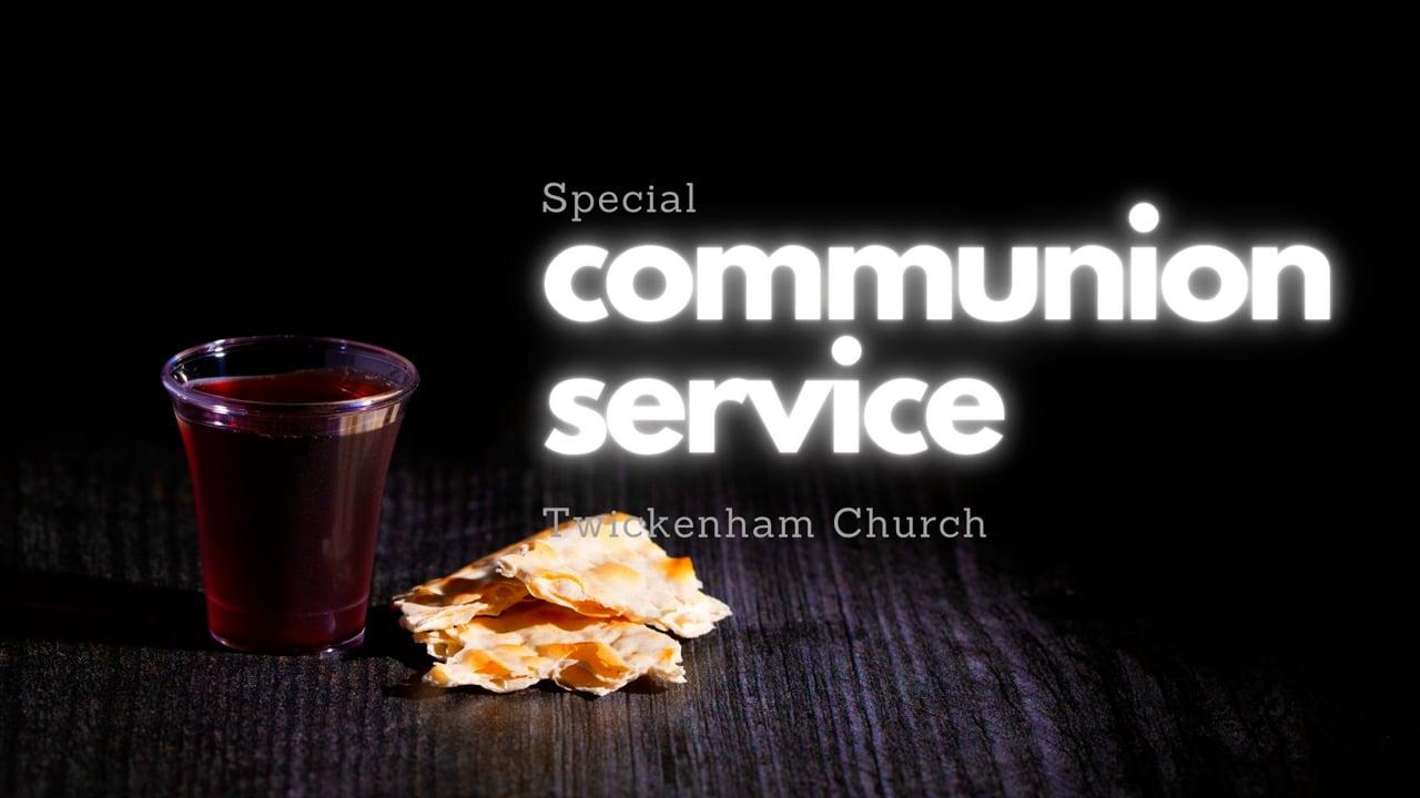 Special Communion Service