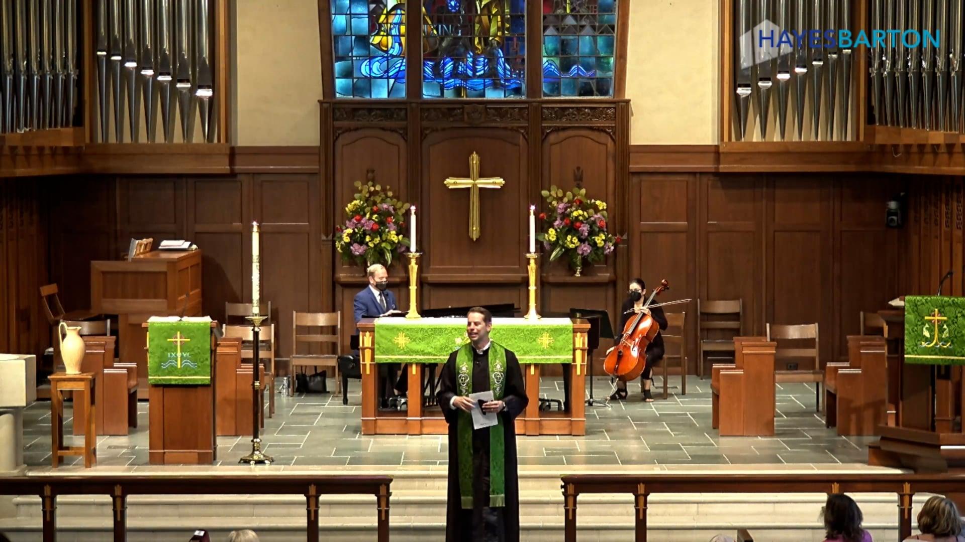 Sanctuary Worship - September 19, 2021