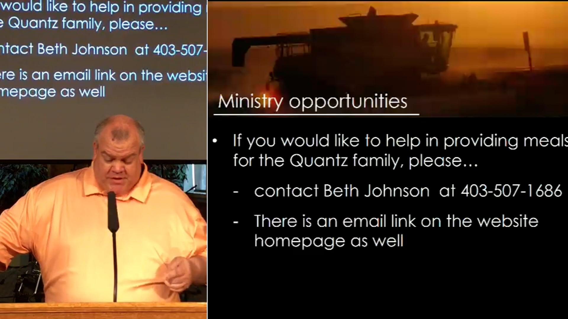 Sept 19 2021 Worship Service