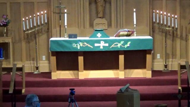 Zion Sunday Worship Sevice September 19 2021