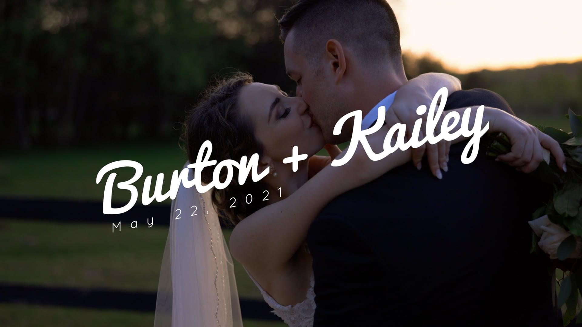 Burton + Kailey Highlight