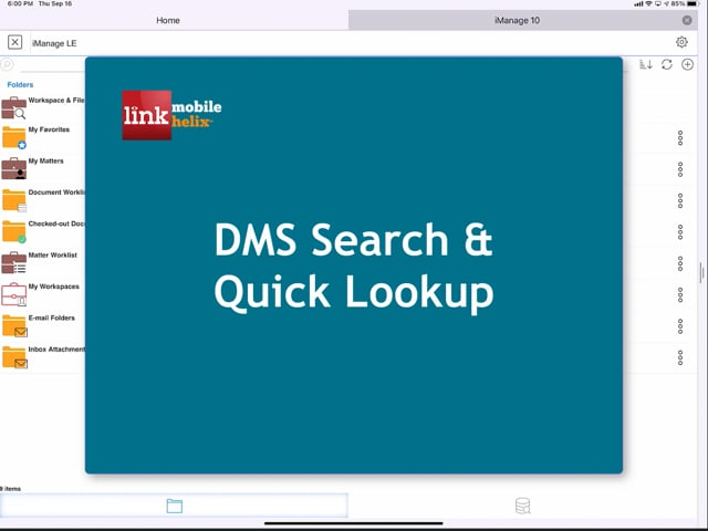 LINK App: DMS Search & Quick Lookup 2:48