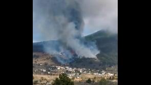 Si intensifica l'eruzione del vulcano Cumbre Vieja alle Canarie