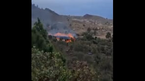 La lava del vulcano Cumbre Vieja divora La Palma