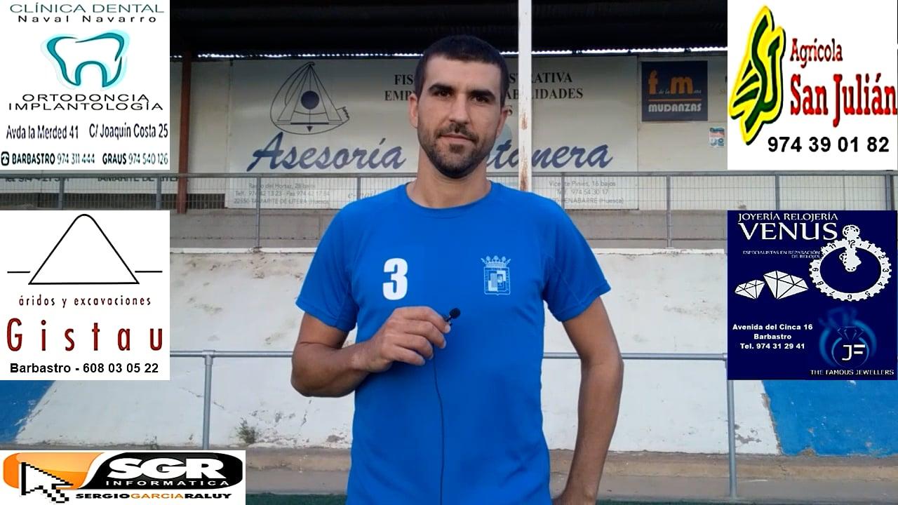 ALBERTO DELGADO (Jugador Tamarite) CDJ Tamarite 2-2 Valdefierro / J 2 / Preferente - G 1