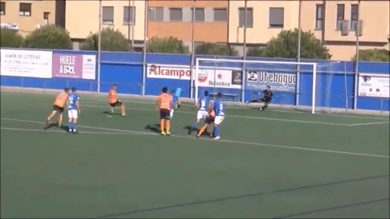 (RESUMEN y GOLES) CF Utebo 2-2 CD Binéfar / J 3 / 3ª División