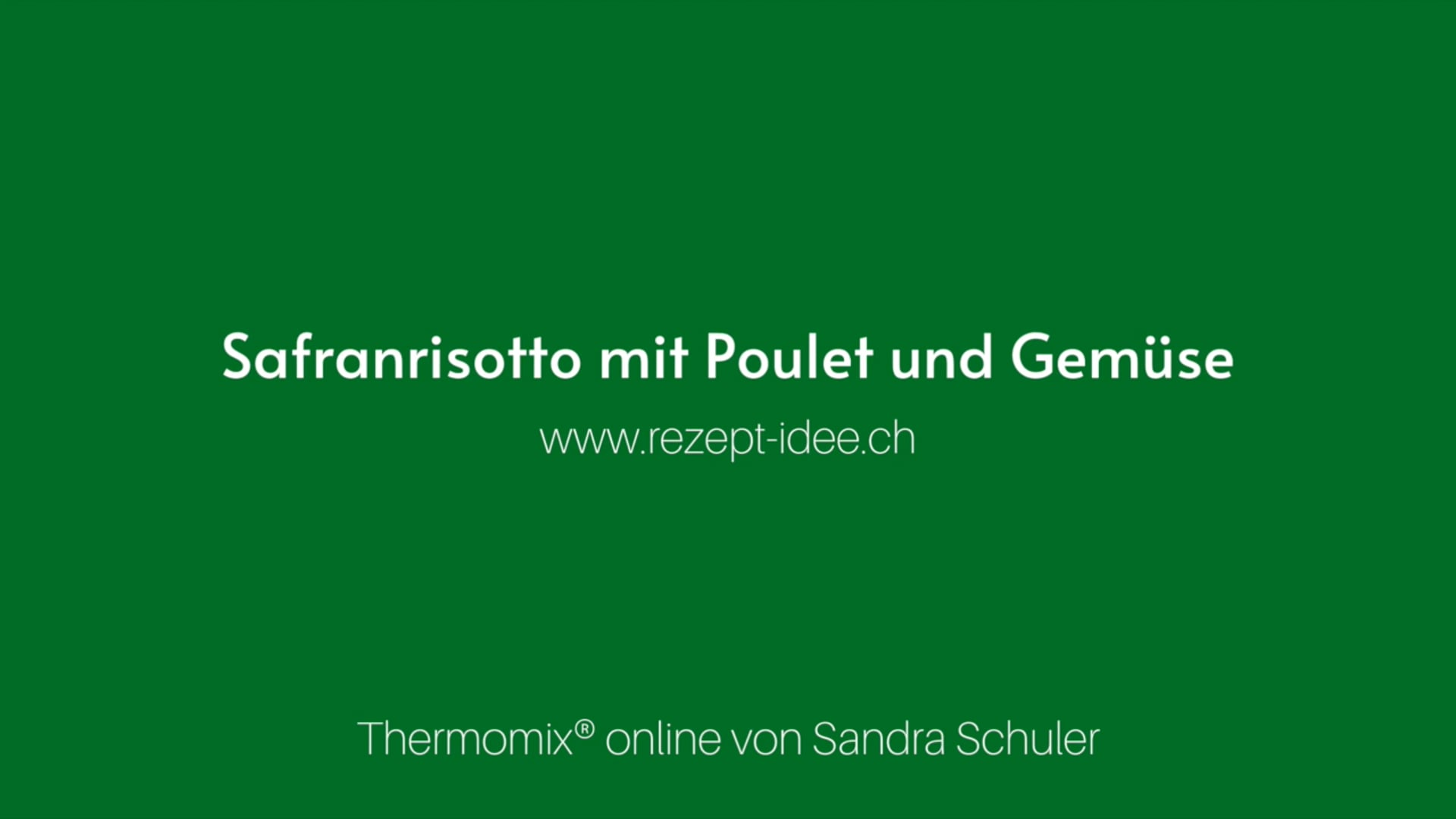 Safranrisotto mit Poulet und Gemüse (all-in-one)