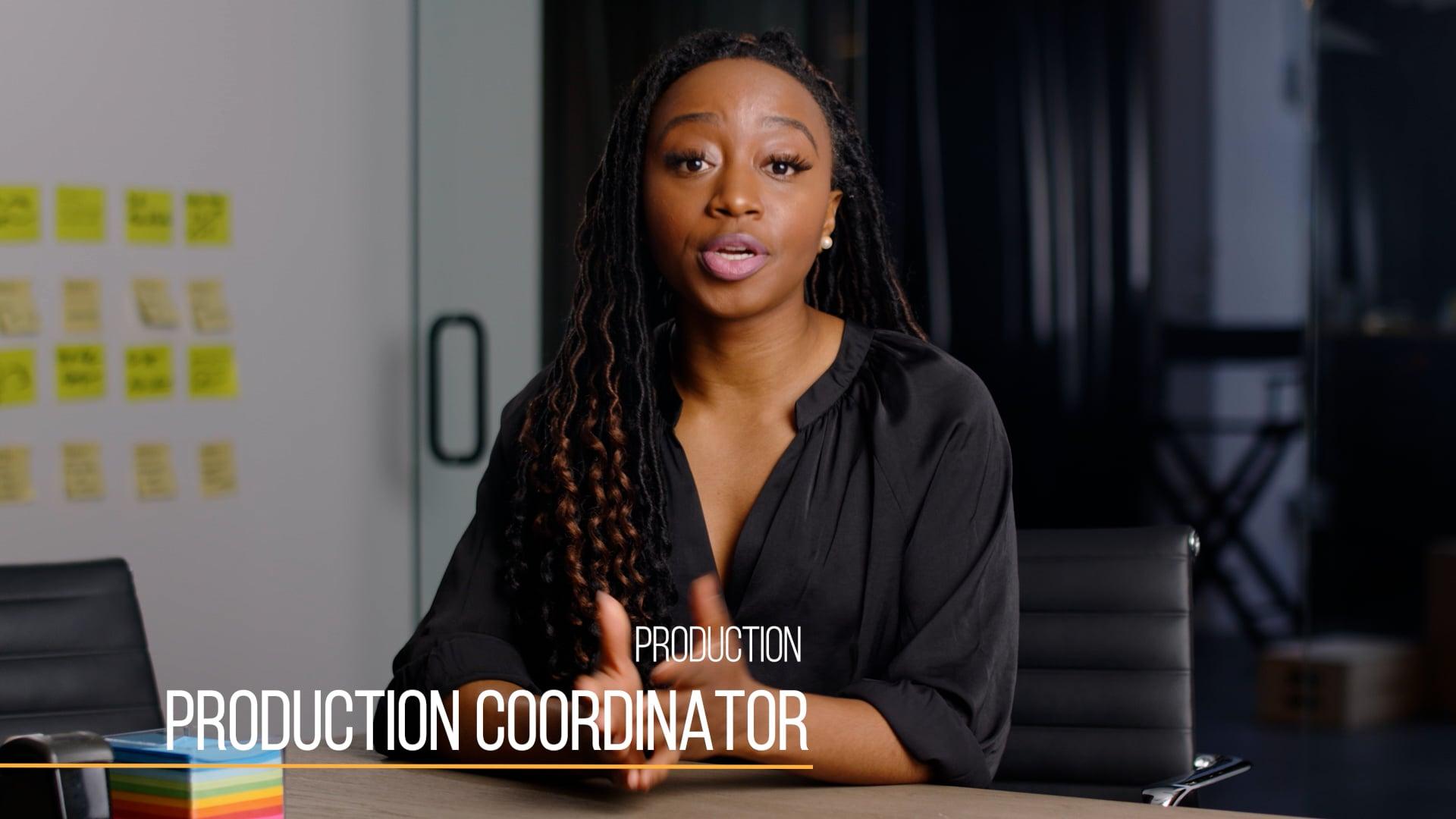 37 Production201 Production Coordinator