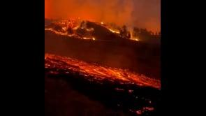L'eruzione del vulcano Cumbre Vieja sull'isola di La Palma alle Canarie