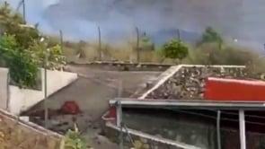 Le immagini dell'eruzione del vulcano Cumbre Vieja sull'isola di La Palma