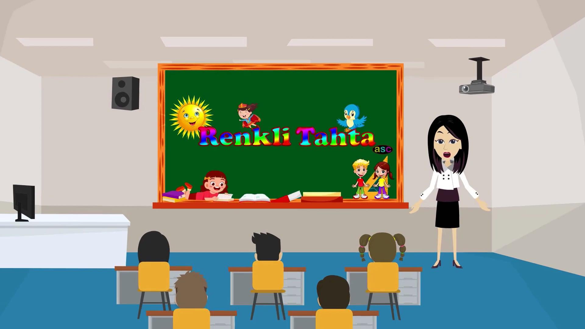 Renkli Tahta / Sınıf İçi Uygulamalı Dijital Eğitim Materyali