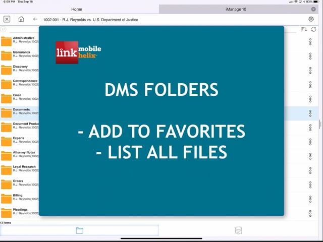 LNK App: Foldlers: Add to Favorites & List All Files 0:56