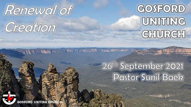 26th Septermber 2021 - Pastor Sunil Baek