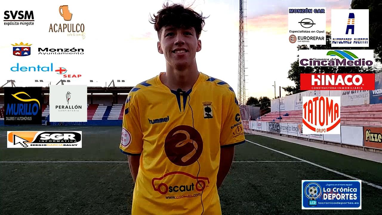 CAMILO  ANDRÉS LEITON (Jugador Robres) At Monzón 0-0 CD Robres / J 3 / 3ª División