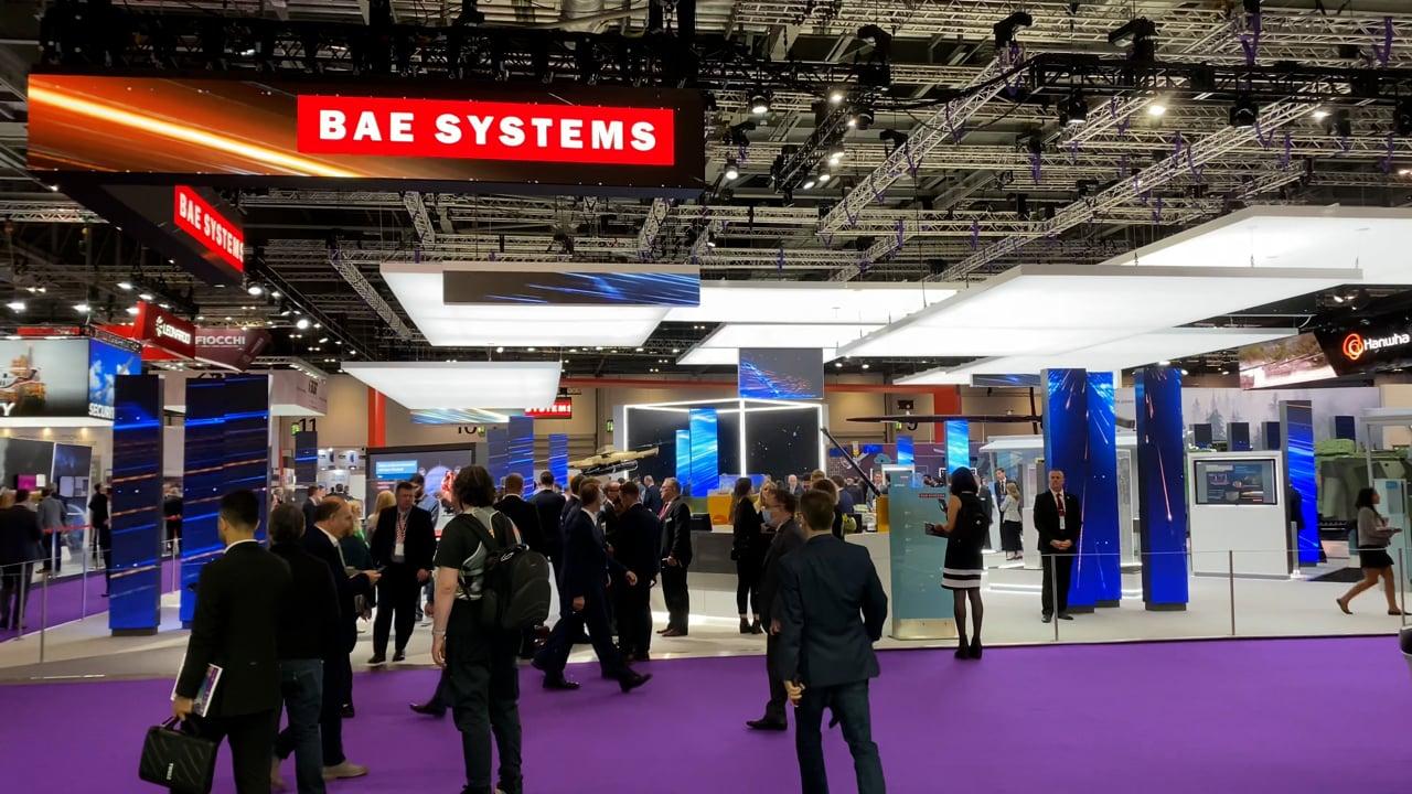 DSEI 2021 Exhibition BAE Systems