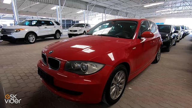 BMW 118i - RED - 2009