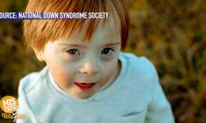 Boy with Down Syndrome Lights up Times Square