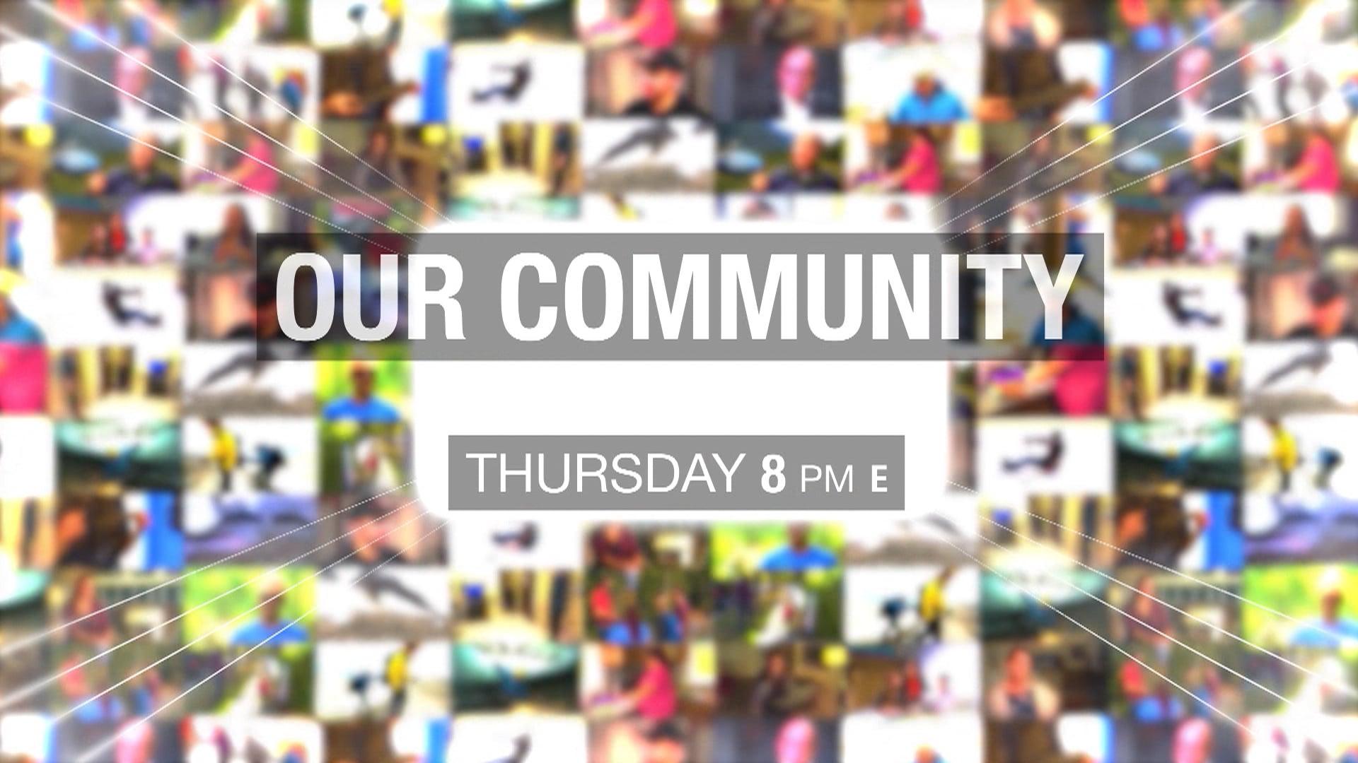 "Our Community ""Trailblazers"" promo"