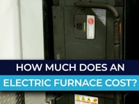 How much does an electric furnace cost?