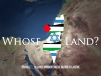 III - The Zionist movement and the Balfour declaration